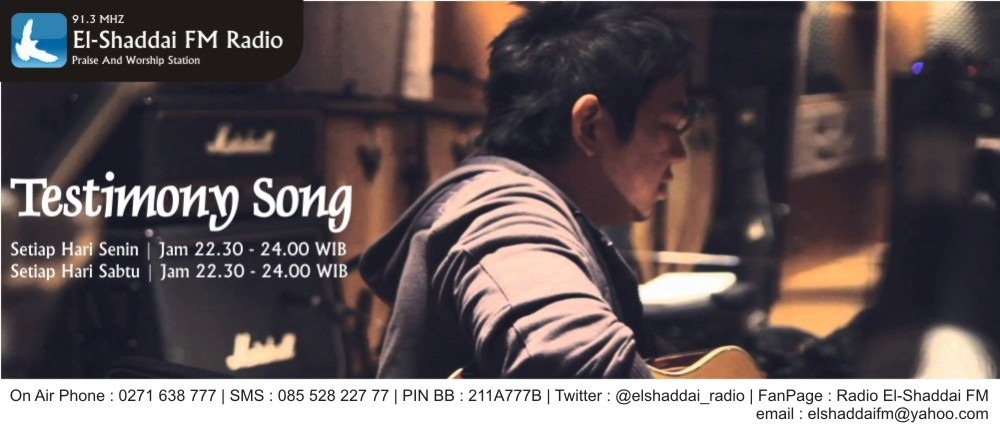testimony song